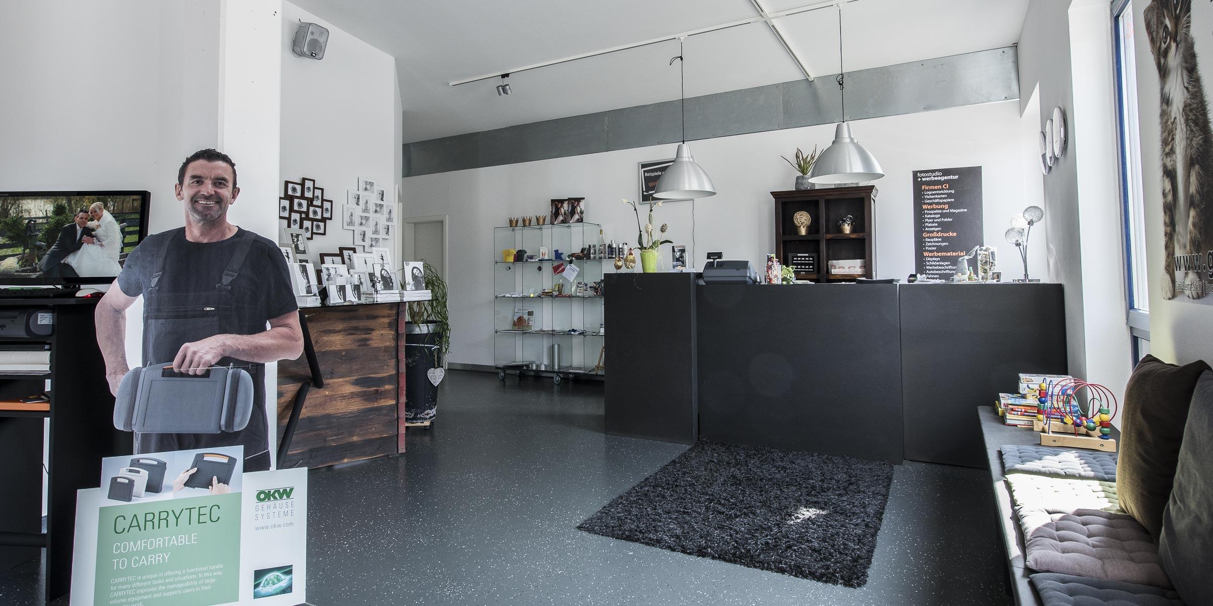 Ladengeschäft-Fotostudio
